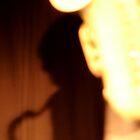 Shadow saxophone by Juan-Carlos Hernandez