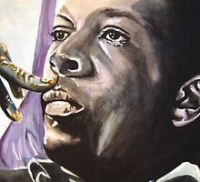 coltrane by johnnysandler
