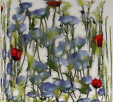 Blue Eyes Aquarell by darling110