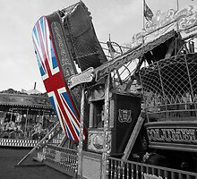 Fairground Union Jack by Alex Hardie