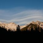 Clouds over Rockies, Johnson Lake, Banff national park, Canada by benstrong