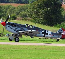 ME 109 Wheels Away by Colin J Williams Photography