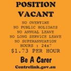 Position Vacant by lightsmith