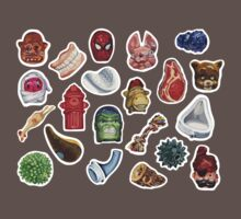 Sticker Sheet by Karl Frey