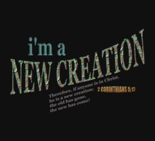 I'm A New Creation by Ruth Palmer