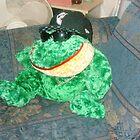 Gangster Frog by Leeannarose