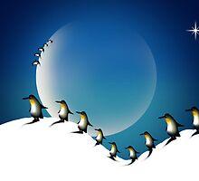 Penguins' dream by altergromit