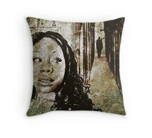 Noises in the Darkness Throw Pillow