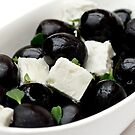 Black Olives &amp; Feta Cheese by Wendy Kennedy