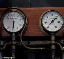 Compound gauges by Martin Creely