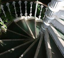 Victorian Stairway by Wayne Gerard Trotman