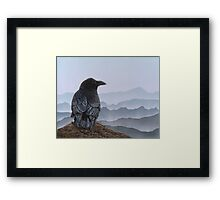 Over the Mountains Framed Print