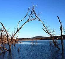 Praying For Rain Lake Jindabyne New South Wales by Deirdreb