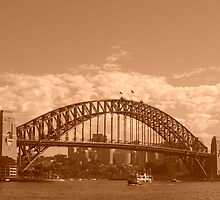 Sydney- Sepia Coathanger by fifotos