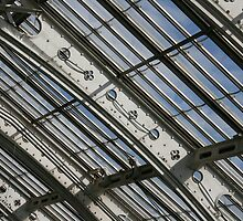 Victorian Glasshouse Ceiling Detail by Wayne Gerard Trotman
