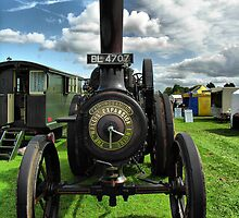 Wallis & Steevens Steam Traction Engine 'Fair Rosamund' by Clive Lewis-Hopkins.