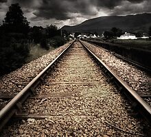 Making Tracks by Linda  Morrison