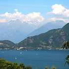 Lake Como (Lago di Como) Italy by Peggy Berger
