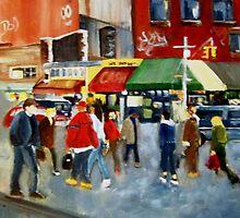 STREET SCENE by LJonesGalleries
