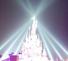 Disneyland Resort Paris Castle 15th Anniversary by DanPraag