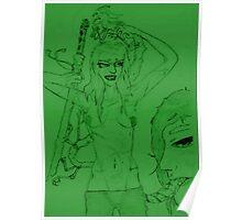 Benten Dragon Princess+ Naga Gob Poster