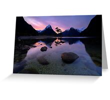 Milford Sound, Fiordland National Park Greeting Card