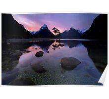 Milford Sound, Fiordland National Park Poster