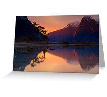 Milford Sound, Fiordland National Park Greeting Card
