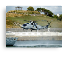 Merlin Helicopter Canvas Print