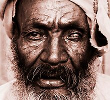 Portrait of an Ethiopian by Alex  Bramwell