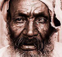 Portrait of an Ethiopian by Alex  Bramwell