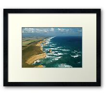 The Apostles From Above Framed Print