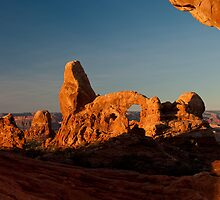 Turret Arch - Another View by Todd Morton