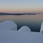 Santorini still waters by Martin  Hazelgrave