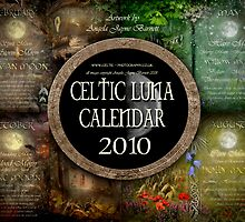 Celtic Luna Calendar 2010 Cover by Angie Latham