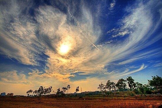Evening storm by Prasad