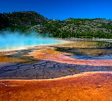Thermal Pool Rainbow by John  Sperry