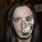 Face merge with skull by Nathaniel Tempest