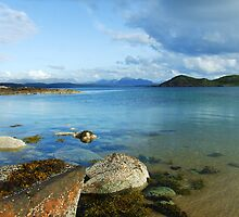 Tranquil Shore - Cove, Wester Ross by artyfifi