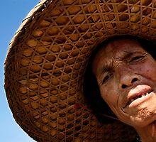 Portrait of a Chinese Woman by Alex  Bramwell
