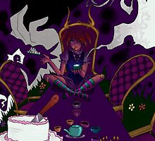 Mad tea party by Sarah Huff