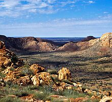 Gosse's Bluff, Central Australia by Harry Oldmeadow