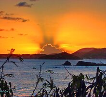 St. Thomas Sunset by Roland Pozo