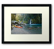 Free Parking. Framed Print
