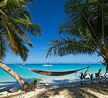 Hammock in Paradise by Karen Willshaw