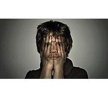 i count u hide Photographic Print