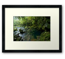 The Source. Framed Print