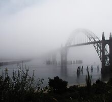 Fog Rolling In...Newport , Oregon by trueblvr