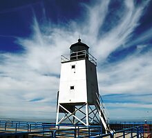 Summer Lighthouse by Tricia Reibel