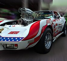"1975 Chevrolet Corvette, ""Spirit of 76"" Dragster by TeeMack"